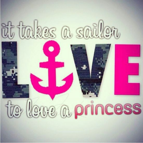 Love Sailor MILSO Military Life Navy