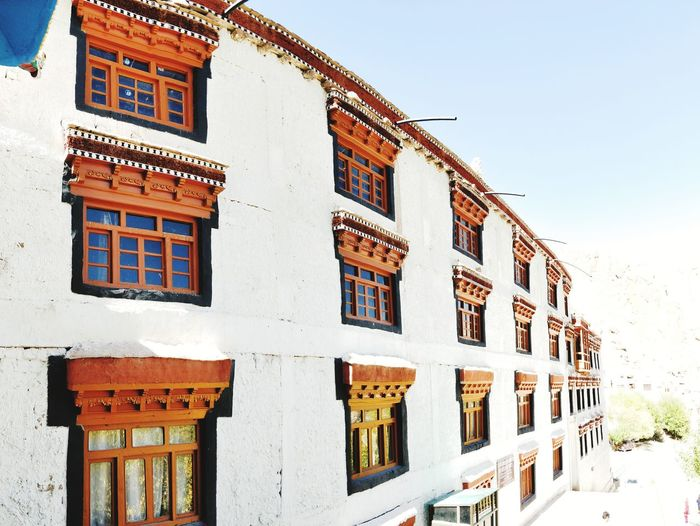 hemis wall Leh Ladakh.. Leh Leh Ladakh India Ladakh Ladakhdiaries Hemis Monastery City Window History Sky Architecture Building Exterior Historic Old Ruin