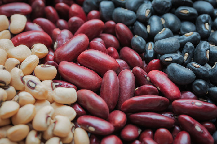 Healthy diet beans. Agriculture Diet Soybean Vegetarian Abundance Backgrounds Bean Black Gram Choice Food Food And Drink Freshness Full Frame Healthy Kidney Large Group Of Objects Mung Nutritional Supplement Raw Food Red Seed Temptation Vegetarian Food Vitamin Wellbeing