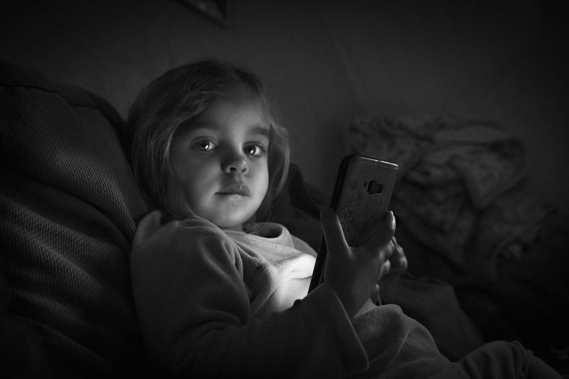 Hey! Bnw Taking Photos Taking Pictures Portrait Bnw_friday_eyeemchallenge Technology Wireless Technology Child Childhood Internet Communication Portable Information Device Babyhood Touch Screen Humanity Meets Technology