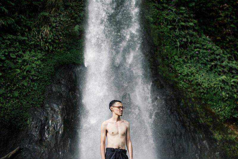 The Portraitist - 2014 EyeEm Awards Portrait Waterfall