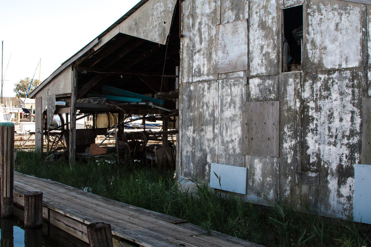 architecture, abandoned, built structure, no people, building exterior, desolate, outdoors, day