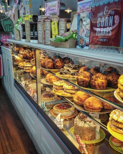 Food And Drink Food Retail  Freshness For Sale Choice Sweet Food Store Dessert Temptation Abundance Small Business Unhealthy Eating Business Finance And Industry Bakery Shabby Shabby Chic Megalò Chieti Bakery Shop Baked Pastry Item Cake Muffins Apple Pie Donuts