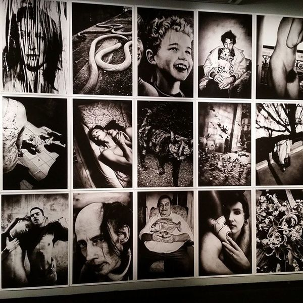 Photo from an Exhibition @ Fotografiska Museet earlier this year