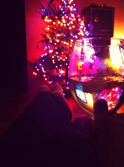 Christmas Lazy Chilling Good Evning