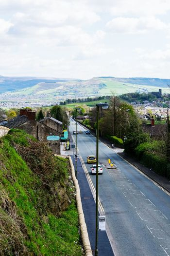 High Angle View Road Day Architecture Outdoors Mottram Longdendale Mottram Moor Frog In The Wall Roe Cross