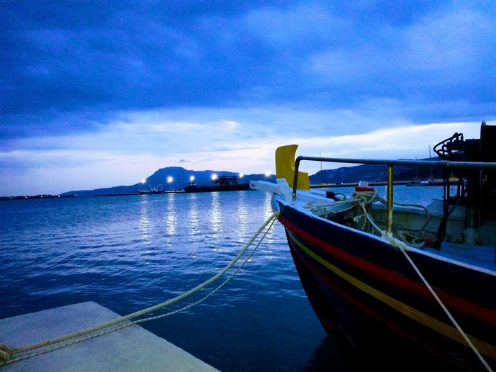 Nautical Vessel Water Boat Sky Sea No People Nature Outdoors Beauty In Nature Travel Destinations Longtail Boat Day
