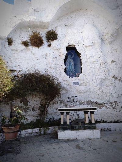 Gruta de la Virgen Virgen InmaculadaConcepcion Religion Virgin Mary Day No People Sky Nature