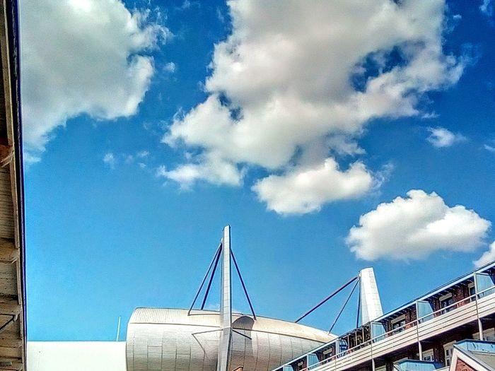 City Blue Sky