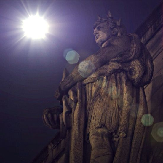 Keeping a watchful eye out. Always look up! Statues Night Watch EyeEmBestPics Architectural Elements