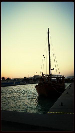 Doha qatar...beautiful eve...