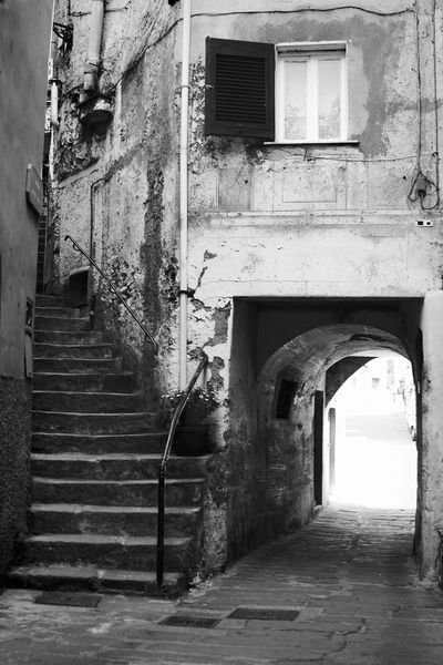 5 Terre Architecture Black & White Black And White Black And White Photography Blackandwhite Blackandwhite Photography Building Exterior Built Structure Cinque Terre Fine Art Fine Art Photography Fineart Fineart_photobw Porch Riomaggiore Staircase Steps Steps And Staircases The Way Forward