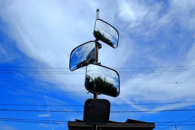Mirror Sky Nikon P310