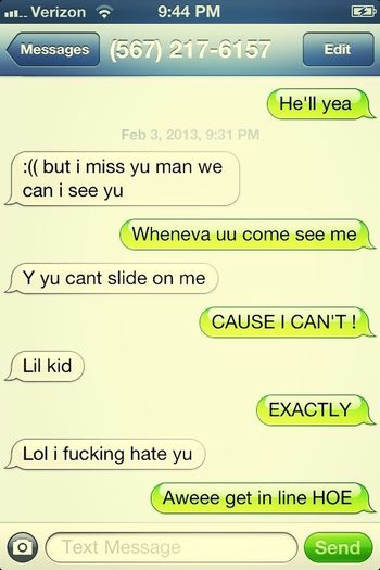 My Lul HOE , Be Actin up