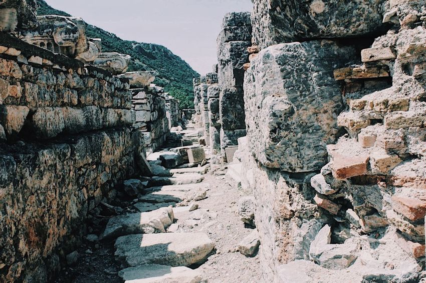 Ephesus Ancient City #photography #travel #tourism Rock - Object Human Body Part Travel Destinations Outdoors Architecture Sky Day People Ancient Civilization First Eyeem Photo