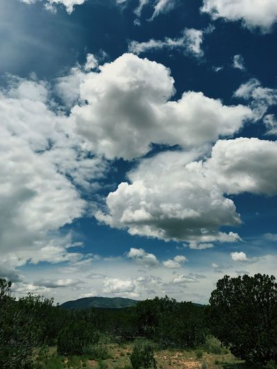 """""""On a Cloudy Day You Can Still See Forever"""" Follow the clouds to the Gallinas Peak in Central New Mexico. Cloud - Sky Sky Scenics Landscape Cloudscape Clouds And Sky Clouds Dramatic Sky New Mexico Newmexicophotography Newmexicoskies Beauty In Nature Mountain"""