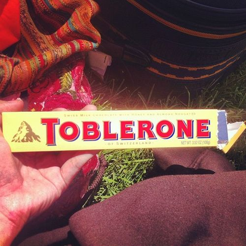 For the bus ride home 😏 Chocolate Toblerone Yummy OC caligirl simplybeingalice livinglife leaving steubenville catholic proud fun amazing worthit chosen