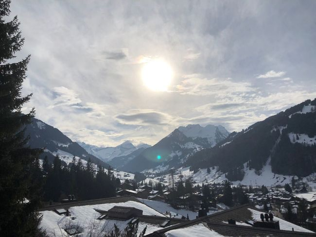 Amazing Grace EyeEmNewHere Shades Of Winter Vangoghish Bolonie Style Bolonie Art Bolonie I❤️Gstaad Snow Mountain Winter Cold Temperature Sunbeam Nature Beauty In Nature Sunlight Landscape Outdoors Sun Sky Mountain Range Scenics Day Tranquility Tranquil Scene Range No People An Eye For Travel