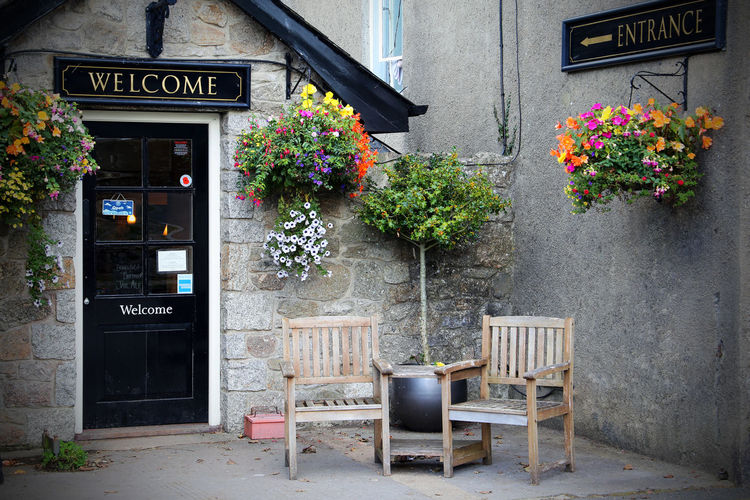 Country Dartmoor Pub South West Architecture Building Exterior Built Structure Country Life Country Pub Countryside Day Door Flower Flowers Fragility No People Outdoors Plant Text Welcome