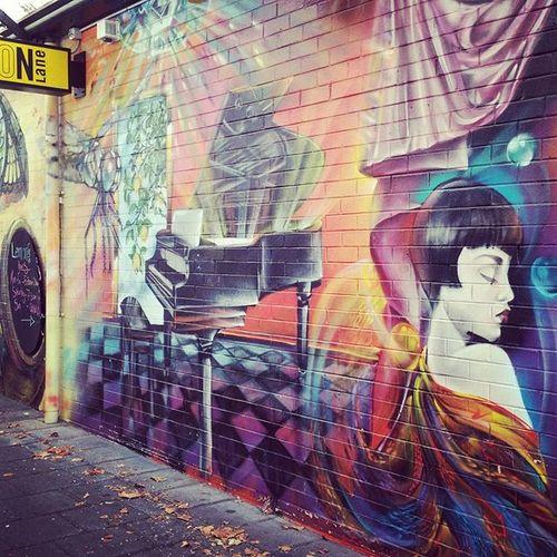 Lemon lane street art here in Perth. Perth Streetart Streetsofperth Perthlife Perthisok ThisisWA WesternAustralia Seeaustralia Women Dragonfly Piano Chemodiver Lemonlane