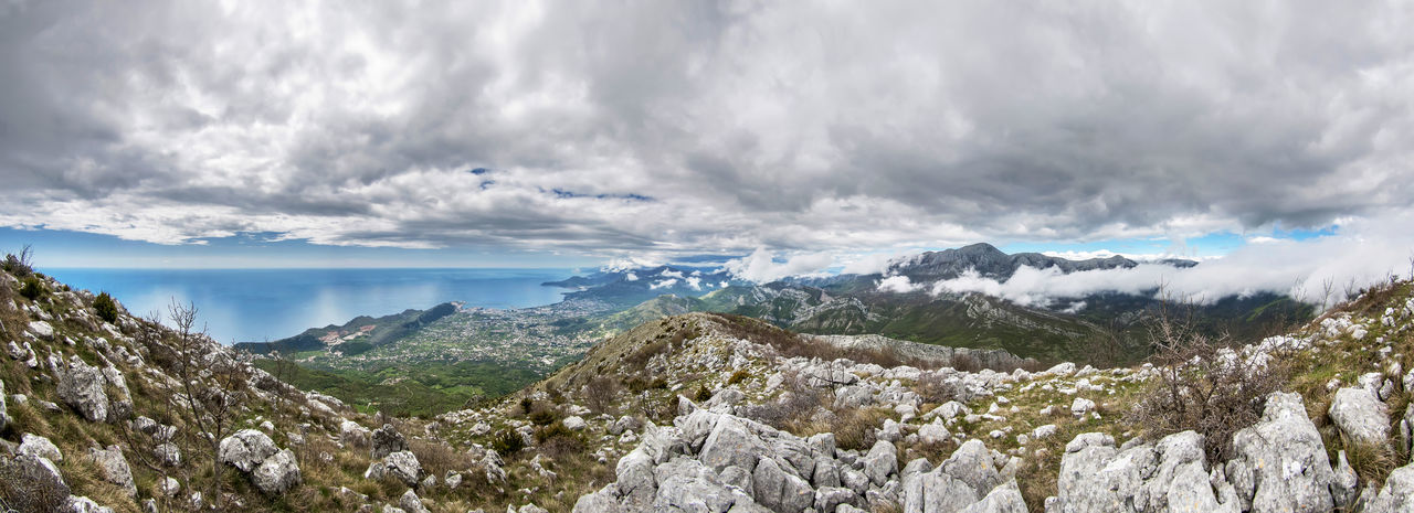 Balkans Mountain Scenics - Nature Beauty In Nature Sky Cloud - Sky Tranquil Scene Tranquility Mountain Range Environment Landscape Non-urban Scene Nature No People Idyllic Outdoors Day Panoramic Balkans Montenegro
