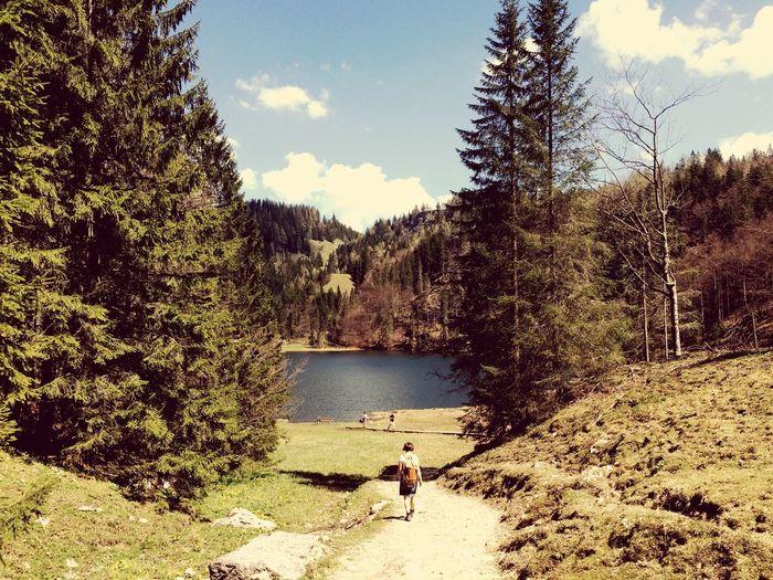 Taubensee, Austria Austria Alpen Alps Vintage Wanderlust Berge mountains Outdoors