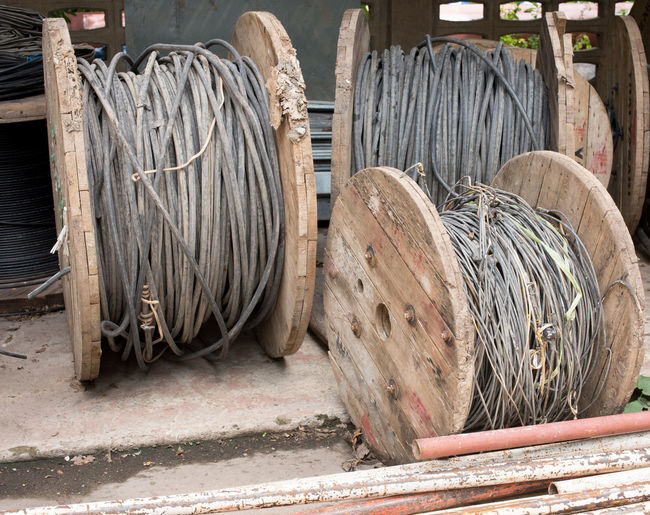 Cable Wooden