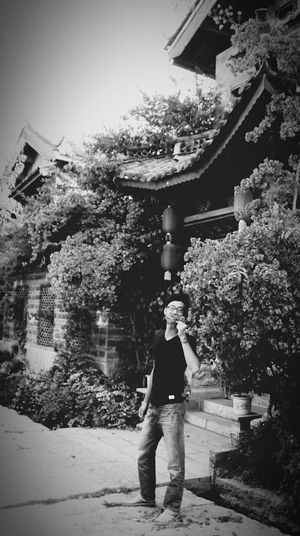 days in Lijiang town Blackandwhite Ancient City