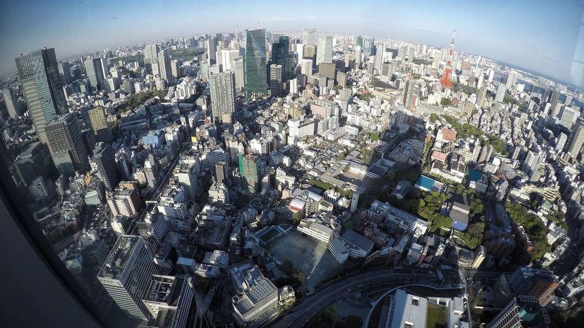 Tokyo Cityscape From My Point Of View View From The Window Tokyo Landscape Tokyo Cityscapes Urban Landscape Skyline Urban Skyline Sky And Builings Buildings Shadows Lines Light And Shadow City Details View From Observatory Roppongi Hills Tokyo,Japan 展望台からの景色 16:9 Crop 東京23区内の有名な所にも上野公園の桜マンホールみたいなご当地的な図柄マンホール作ってくれたら面白いのになぁ…東京に来てくれる海外観光客の人たちがホント増えてるからソレを見つけてくれたら喜んでもらえそうな気がする。ちなみにスカイツリーも小っちゃく写ってます。