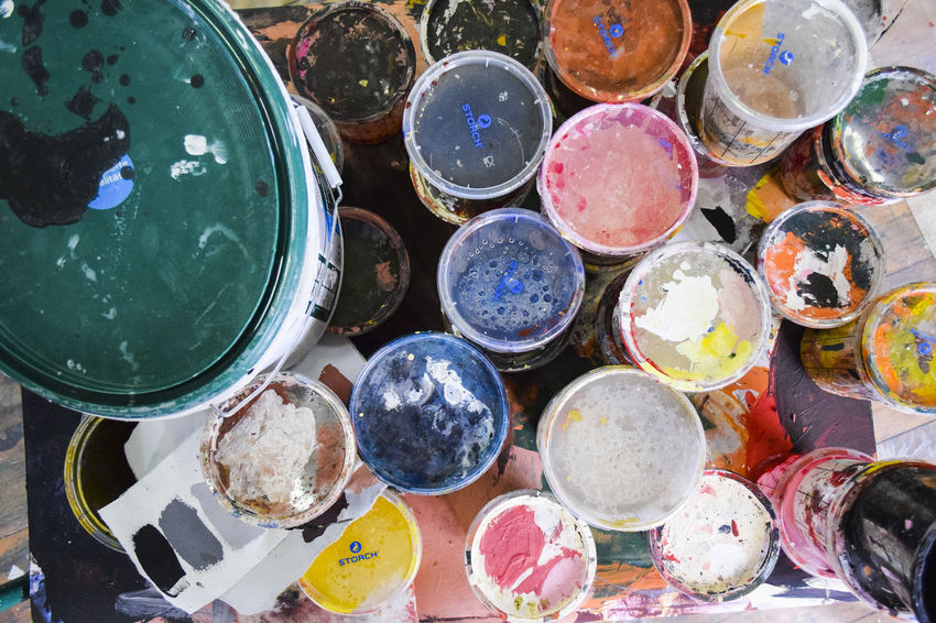 Colors Art And Craft Art And Craft Equipment Backgrounds Choice Close-up Collection Colorful Colorfull Craft Full Frame Geometric Shape High Angle View Indoors  Large Group Of Objects Messy Multi Colored No People Paint Personal Accessory Semi-precious Gem Shape Sphere Still Life Variation