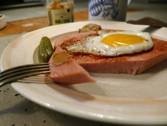 Dinner Tipical Gherkin Mustard Beer Traditional Bavarian Food Bavarian Tradition Leberkäse Brotzeit Food And Drink Food Egg Plate Breakfast Ready-to-eat Indoors  Fried Egg Meal Meat Freshness Close-up Egg Yolk