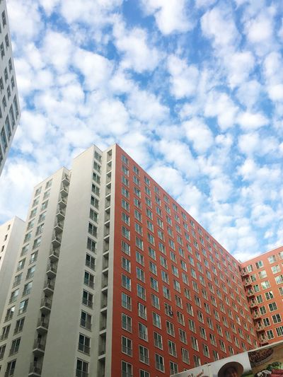 Cloud - Sky Low Angle View Sky Built Structure Architecture Building Exterior Building
