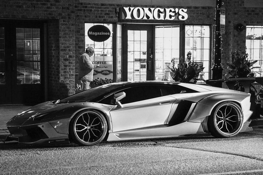 super car alert Blackandwhite Monochrome Street Black And White Luxury Land Vehicle Car Architecture Sports Car Motorsport