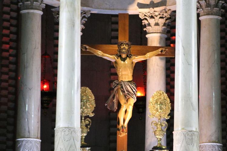 Art Church Iglesia San Agustin Jesus Christ Mexico City Religion Sculpture Spirituality