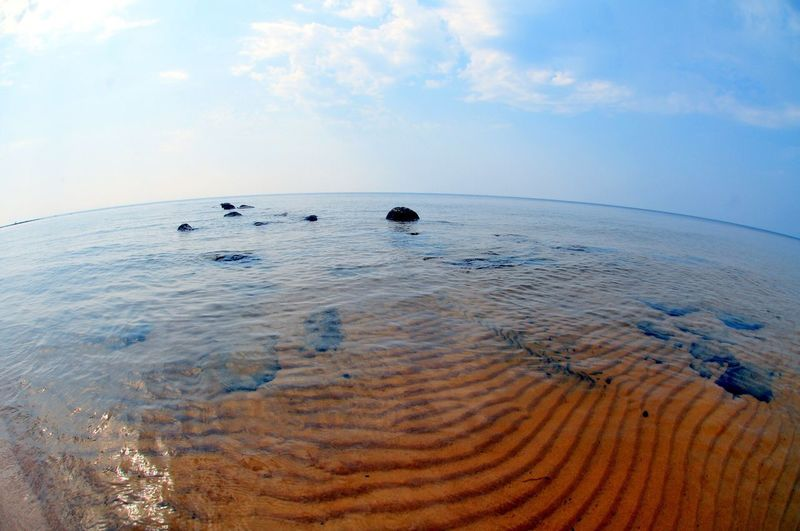 Water Lake Onego Lake Sand Landscape Waterscape Nature Beach Karelia Perspectives On Nature