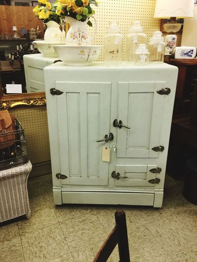 Old refrigerator!!! Indoors  No People Day Close-up Antique Antiques Old Old Refrigerator Refrigerator Appliance Old Appliance