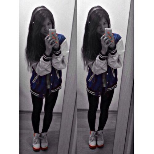 Black And White Blue Jordans Red