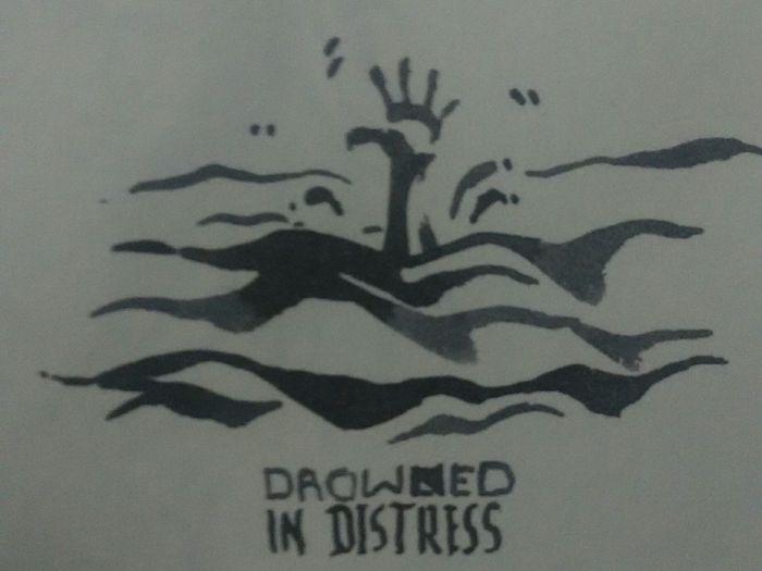 Drowned in Distress Ink Sketchbook SIMPLY