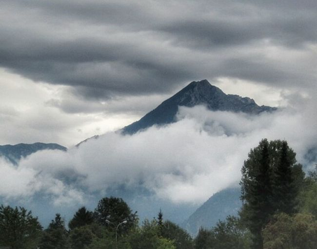 Mountain View Love_austria Love_tirol Clouds Badweather Memories Vacation