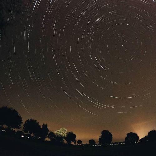 Startrails from last night Meteorshower Gopronight Gopro