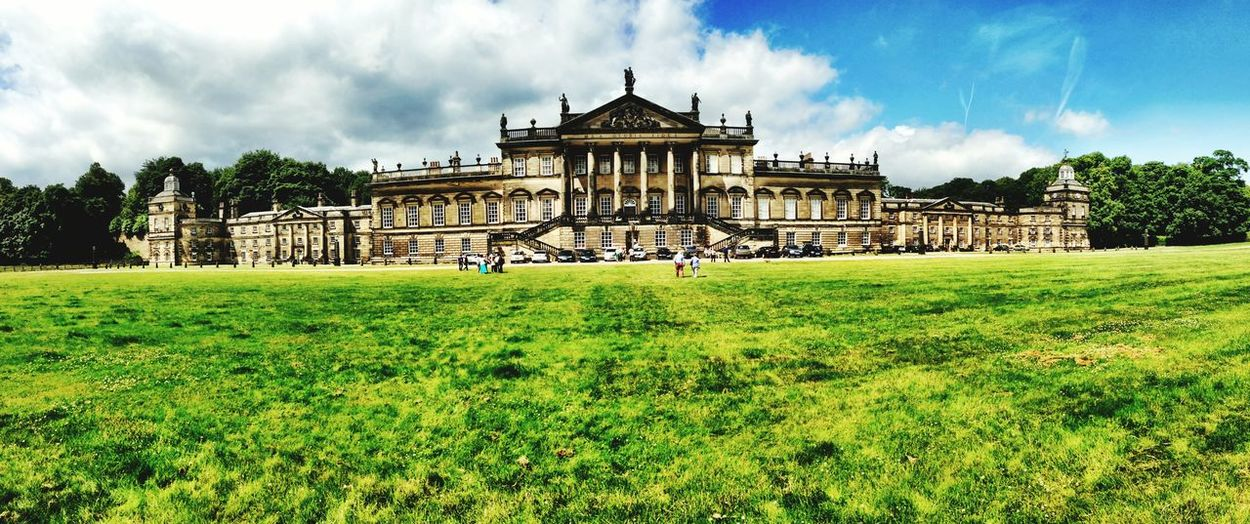 Rotherham Wentworth Woodhouse Scenery Scenery Shots Buildings And Clouds Historical Building Historical Sights
