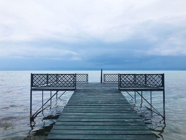 before the storm Strom Balaton Water
