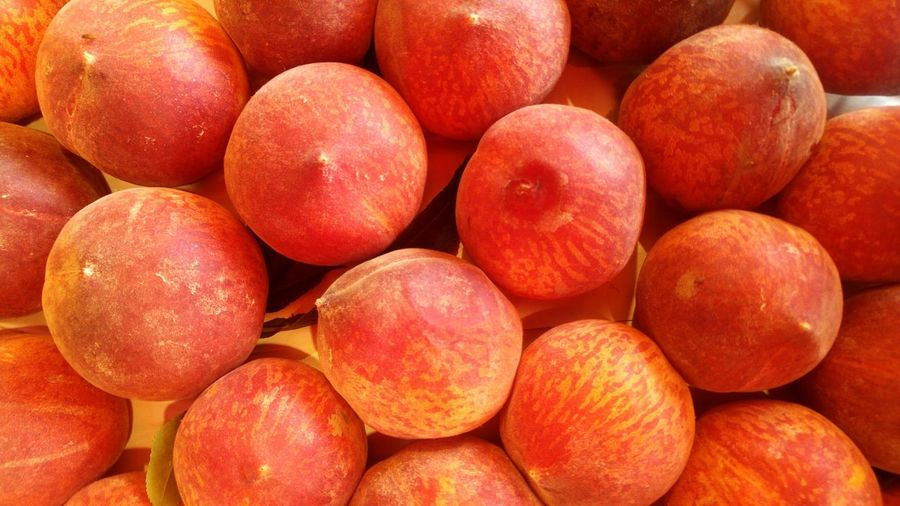 Food And Drink Food Fruit Healthy Eating Large Group Of Objects Peaches Peaches🍑 Full Frame