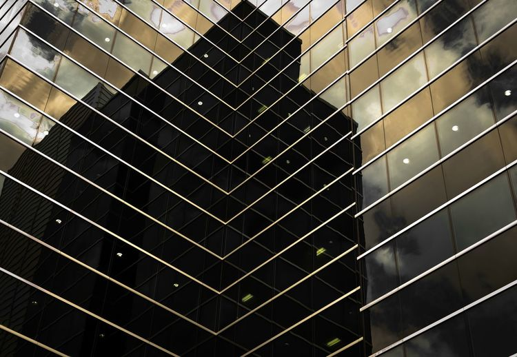 Architecture Building Exterior Built Structure City Close-up Day Full Frame Grid Low Angle View Modern No People Outdoors Reflection Window