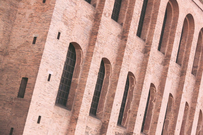 Architecture Brick Building Exterior Built Structure Church Close-up Day Full Frame History Low Angle View No People Outdoors Representing