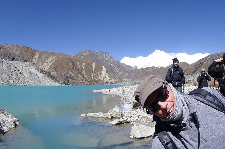The Great Outdoors With Adobe Trekking In Nepal Gokyo Lake EyeEm Best Shots Himalayas Cho Oyu