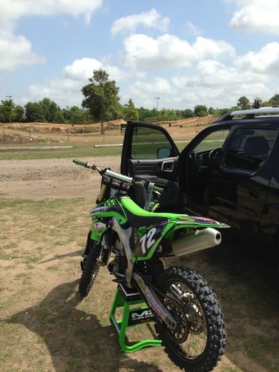 Snuck outta work Houston Motocross Motocross Dirtbike