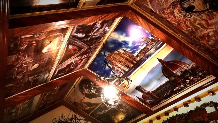 Ceiling Art Art Art Photography Italian Art Painting Look Up And See Beauty Look Up And Enjoy The View EyeEmNewHere