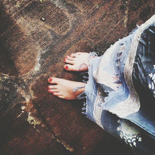 Feet are beautiful things