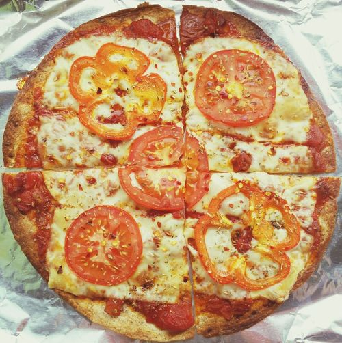 Pizza Tortilla Pizza Wrap Lunch